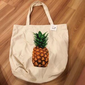BP Pineapple Print Tote